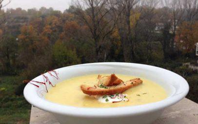 Μια σούπα με κρόκο Κοζάνης που αξίζει να δοκιμάσετε!
