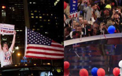 Ανατροπή στις ΗΠΑ: Νέος πρόεδρος των ΗΠΑ ο Ντόναλντ Τραμπ