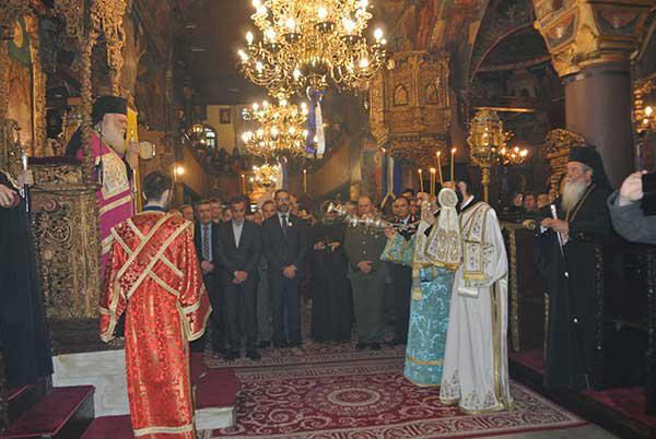 Πανηγυρικός Εσπερινός στον Ι.Ν. Αγίου Νικολάου παρουσία του Αρχιεπισκόπου Αθηνών και πάσης Ελλάδος Ιερώνυμου