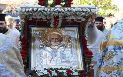 Χρόνια πολλά στον Άγιο Νικόλαο, τον «παππούλη»  της Κοζάνης