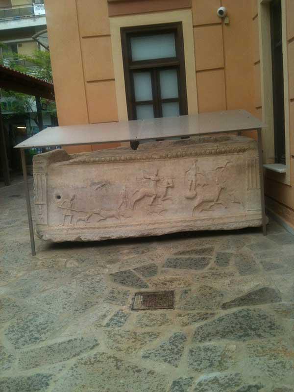 Ο Λύκος της Αρχαιολογικής Συλλογής Κοζάνης