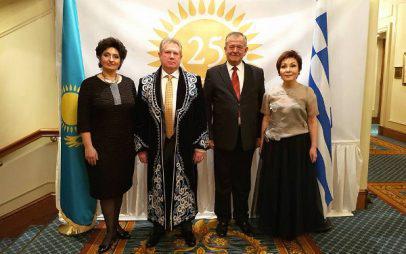 Στην 25η επέτειο Ανεξαρτησίας του Καζακστάν ο Γεώργιος Ντζιμάνης
