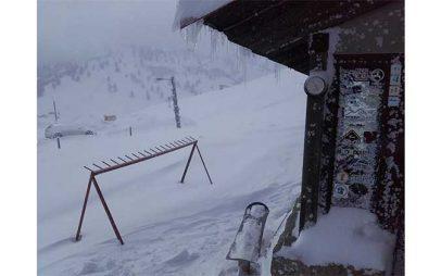 Πανέμορφο χειμωνιάτικο τοπίο στο Καταφύγιο της Βασιλίτσας Γρεβενών