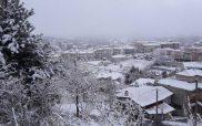 Μαγευτικό χιονισμένο τοπίο από τον Ξενία και την Κοζάνη από …ψηλά!