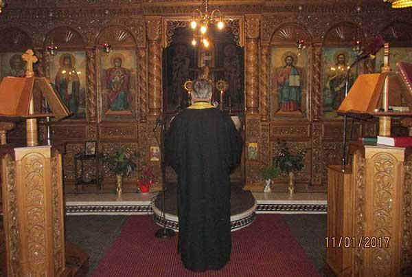 ''Μικρό Απόδειπνο για την Κύπρο'' από τον Ιερό Ναό του Αγίου Διονυσίου Βελβεντού