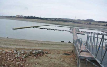 Η στάθμη της τεχνητής λίμνης Πολυφύτου πέφτει λόγω εθνικής ανάγκης