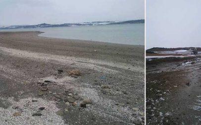 S.O.S. των ψαράδων για την αποστράγγιση της λίμνης – Η στάθμη κατέβηκε επικίνδυνα!