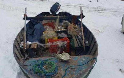 Σύλληψη τεσσάρων αλλοδαπών σε λίμνη της Φλώρινας για παράνομη αλιεία