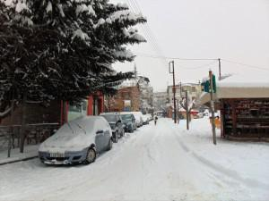 Στα 15 εκ. το χιόνι στην πόλη και στα χωριά του Νομού Γρεβενών
