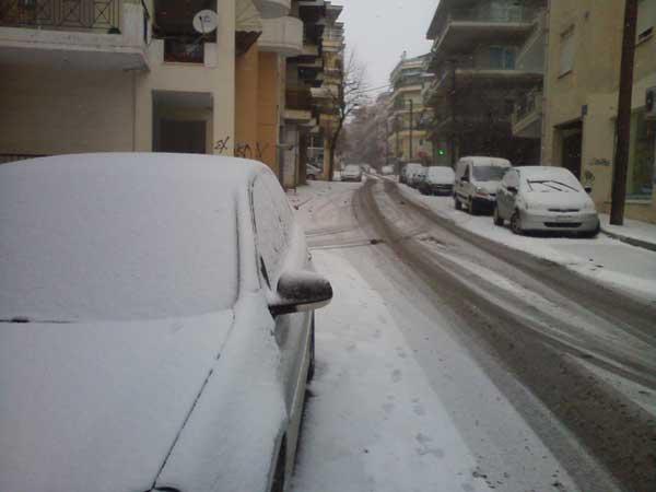 Οι χαμηλότερες θερμοκρασίες της ημέρας καταγράφονται στη δυτική Μακεδονία