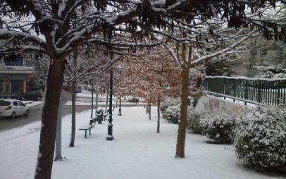 Στα λευκά ξύπνησε το πρωί η Κοζάνη και οι γύρω περιοχές – Δείτε φωτογραφίες!