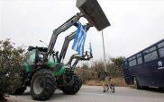 Οι αγρότες του Αμυνταίου συμμετέχουν στις κινητοποιήσεις με μπλόκο στο Αντίγονο