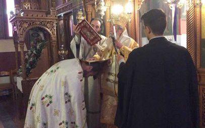 Αρχιερατική Θεία Λειτουργία και χειροθεσία Πρωτοπρεσβυτέρου στο Πλατανόρεμα