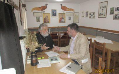 Μια συνέντευξη για τα εκκλησιαστικά μνημεία της περιοχής μας (Πιέρια όρη-λεκάνη Αλιάκμονα-Πολυφύτου) στον δημοσιογράφο της ΕΡΤ Κώστα Δαβάνη