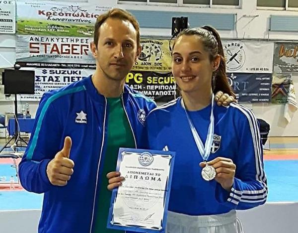 Κατερίνα Τζέλλου: Το «χρυσό» κορίτσι της Κοζάνης στο Taekwondo!
