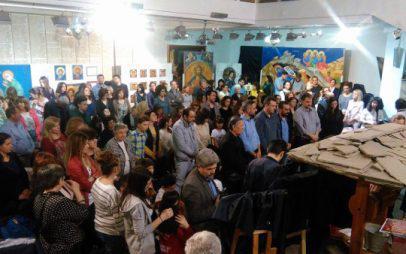 Έργα τριών αγιογραφικών εργαστηρίων από Ελλάδα, Ιταλία και Ρουμανία εκτίθενται στο λαογραφικό μουσείο Κοζάνης