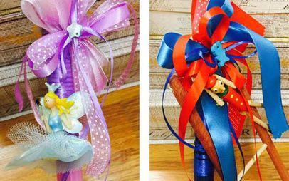 Η πασχαλινή προσφορά του prlogos.gr: Δύο παιδικές λαμπάδες από το Γαϊτανάκι