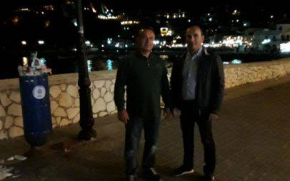 Ο Κώστας Κυριακίδης κόβει βόλτες στην Πάργα