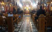 Η φωτογραφία της ημέρας: Η πρώτη Ανάσταση στον Ιερό  Ναό Αγίας Παρασκευής Κοζάνης