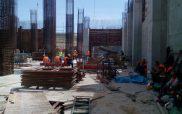 Περιοδεία Συνδικάτου Οικοδόμων Ν. Κοζάνης για την απεργία της 1ης ΜΑΗ, στο εργοτάξιο κατασκευής της 5ης Μονάδας ΑΗΣ Πτολεμαΐδας