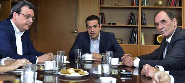 Συνάντηση Τσίπρα – Καρυπίδη στην «σκιά» της συμφωνίας για τη ΔΕΗ
