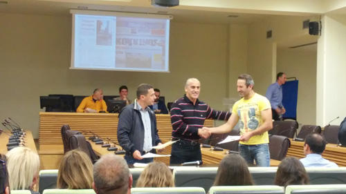 Για την εθελοντική τους προσφορά βραβευτήκαν οι εθελοντές του Λασσάνειου Δρόμου