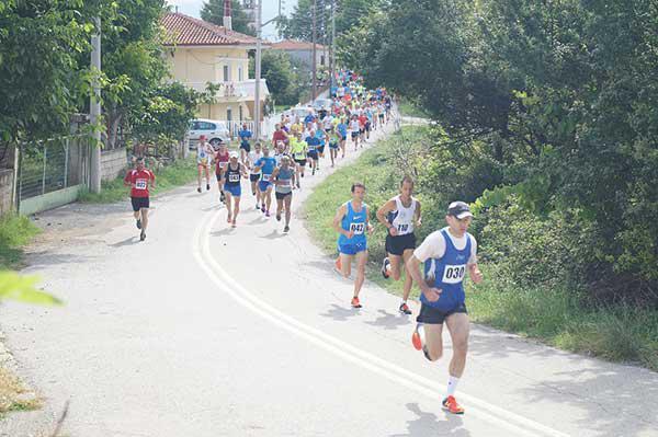 Επιτυχημένος ο 6ος Αγώνας Δρόμου Προφήτη Ηλία 10χλμ. στην Κερασιά Κοζάνης