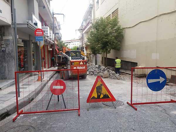 Η φωτογραφία της ημέρας: Ανάπλαση Ιπποκράτους για την εμπορική αναβάθμιση της οδού