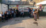 Ο δήμος Κοζάνης φρόντισε για μια «υποτονική» κατάληψη στο αμαξοστάσιο