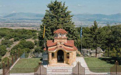 Θυρανοίξια του ιερού ναού Αγίων Αναργύρων Κτενίου Κοζάνης