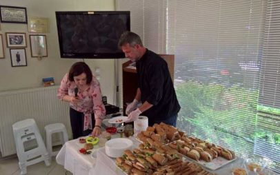 Μαγειρικές στο Γ' ΚΑΠΗ από το ΙΕΚ Κοζάνης για τη μεσογειακή διατροφή!