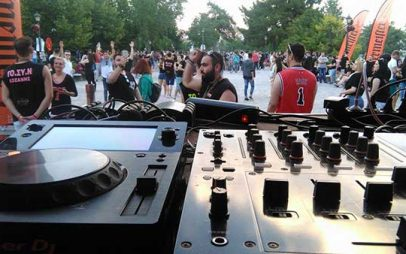 Χαμός έγινε και φέτος στο στο 2ο ex.p. festival στο πάρκο Κοζάνης