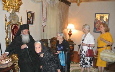Ευχές για την ονομαστική του εορτή δέχτηκε ο Μητροπολίτης Σερβίων & Κοζάνης Παύλος