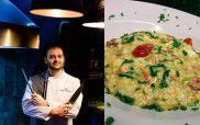Η τέχνη του ριζότο απο τον Σεφ Γιώργο Καλογερίδη…και μια συνταγή με «ελληνικό» ριζότο με σπανάκι,φέτα και ντοματίνια