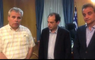 Ταύτιση απόψεων του υπουργού Χρ. Σπίρτζη με τους Περιφερειάρχες για τα διόδια