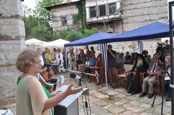 Η Εφορεία Αρχαιοτήτων Κοζάνης για τα εγκαίνια του αποκατεστημένου Αρχοντικού Πούλκως