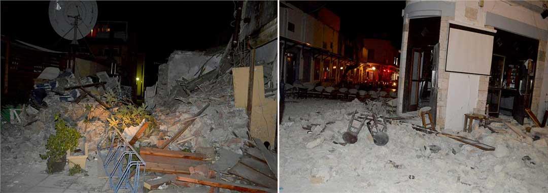 Φονικός σεισμός 6,4 Ρίχτερ στην Κω – Νεκροί, τραυματίες και μεγάλες ζημιές
