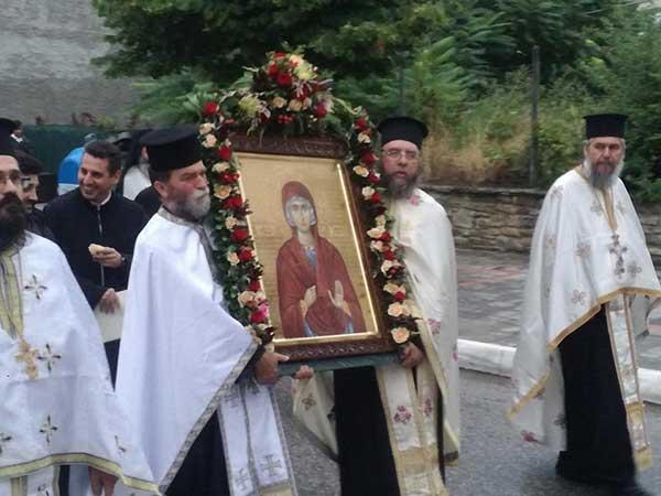 Λαμπρός ο εορτασμός της Αγίας Μαρίνας Τσοτυλίου