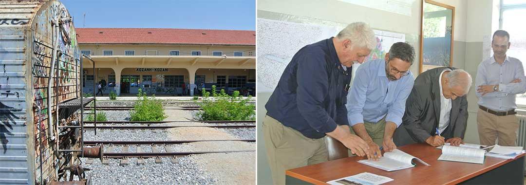 Υπογράφηκε η παραχώρηση του Σιδηροδρομικού Σταθμού στο Δήμο Κοζάνης