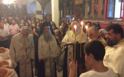 Με τη συμμετοχή πολλών πιστών από την ευρύτερη περιοχή πανηγύρισε ο ιστορικός Ναός της Αγίας Παρασκευής Μοσχοχωρίου (Πλατανόρεμα)