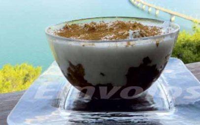 Κρέμα πουτίγκας των Σερβίων Κοζάνης, από την βραβευμένη Executive Chef Νανά Γκαμπούρα