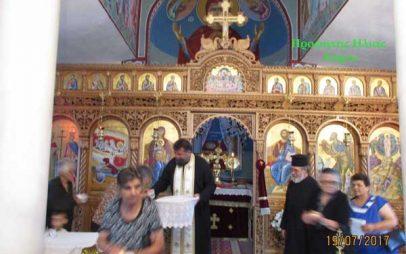 Με χαρούμενα και φιλόξενα πρόσωπα πανηγύρισε το Εξωκλήσι του Προφήτη Ηλία στον Οικισμό Αύρα της Ίμερας