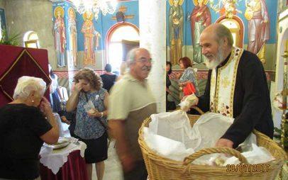 Με καλλίφωνες μελωδίες και πλήθος λαού η πανήγυρη του ι. Εξωκλησιού της Οσίας Ειρήνης Χρυσοβαλάντου στο Βαθύλακκο