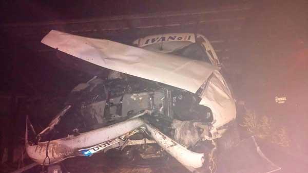 Ένας νεκρός και ένας τραυματίας στον περιφερειακό δρόμο Μαυραναίων-Εγνατίας