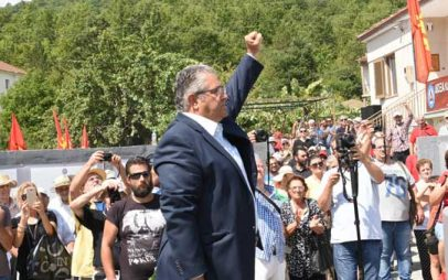 Δημήτρης Κουτσούμπας από τον Γράμμο: «Ο ελληνικός λαός να συνεχίσει την πάλη του για την οριστική ανατροπή των αντιλαϊκών πολιτικών» (VIDEO)