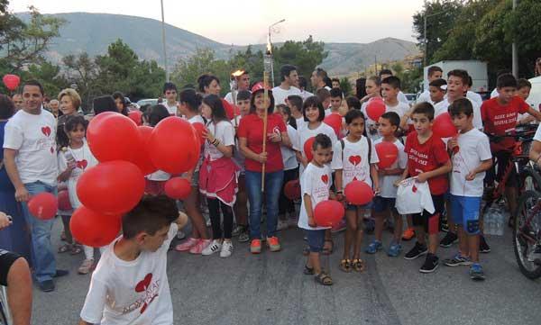 Πρόσκληση 15ης Πανελλήνιας Λαμπαδηδρομίας Συλλόγων Εθελοντών Αιμοδοτών