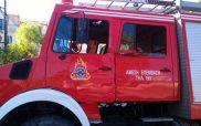 Εκτενείς ζημιές σε «τροχόσπιτο -πλατφόρμα» στο δρόμο Κοζάνης – Λαρίσης