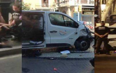 Ο τρόμος επέστρεψε -13 νεκροί, πάνω από 100 τραυματίες στη Βαρκελώνη