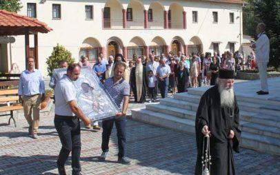 Δεκαπενταύγουστος 2017: Πανηγυρική Θεία Λειτουργία και Περιφορά της εικόνας στην Ι. Μονή Παναγίας Ζιδανίου