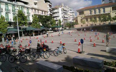Ημέρα eco-driving και κυκλοφοριακής αγωγής στους μικρούς μαθητές στην κεντρική πλατεία Κοζάνης!